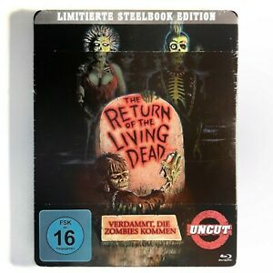 THE-RETURN-OF-THE-LIVING-DEAD-NSM-Limited-Steelbook-Bluray-Uncut-O-039-Bannon