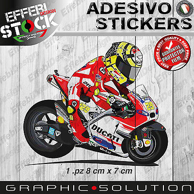 Stickers Sticker Mascot Iannone Andrea 29 Motogp Ducati Escilo Top Quality Ebay