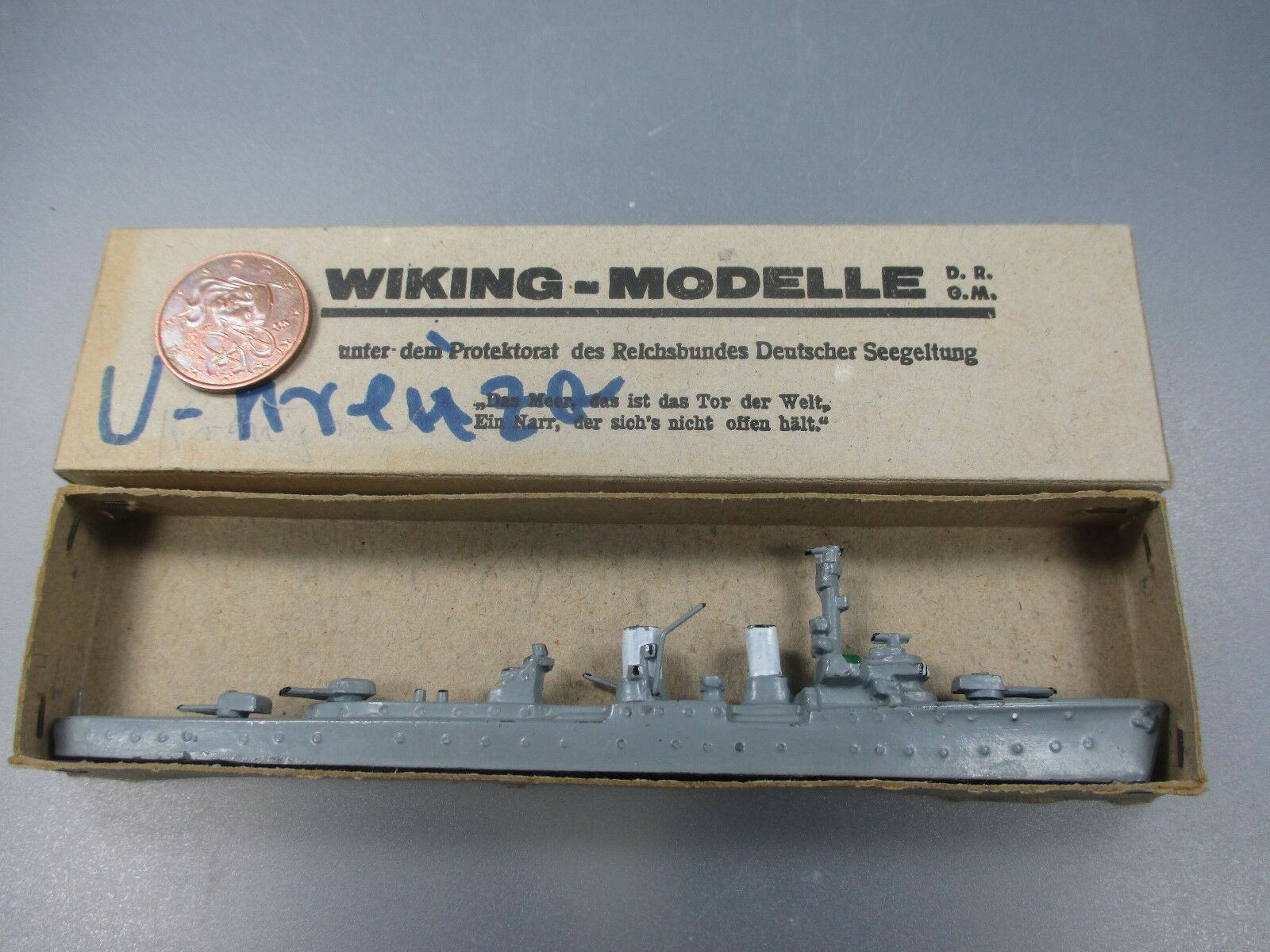 Wiking   Cruiser  Karlsruhe  HDS. Double-sided, early version, in Oct (no 73 NH15)  très populaire