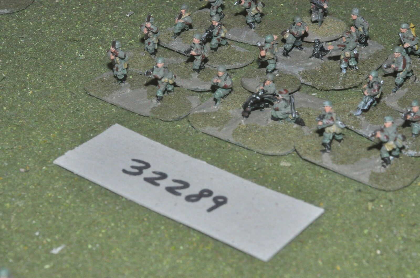 15mm WW2   german - paratroopers 24 figures - inf (32289)
