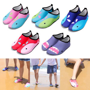 2546dec342cf Boys Kids Aqua Socks Beach Water Shoes Wetsuit Swim Surf Protection Sandals  Wetsuits