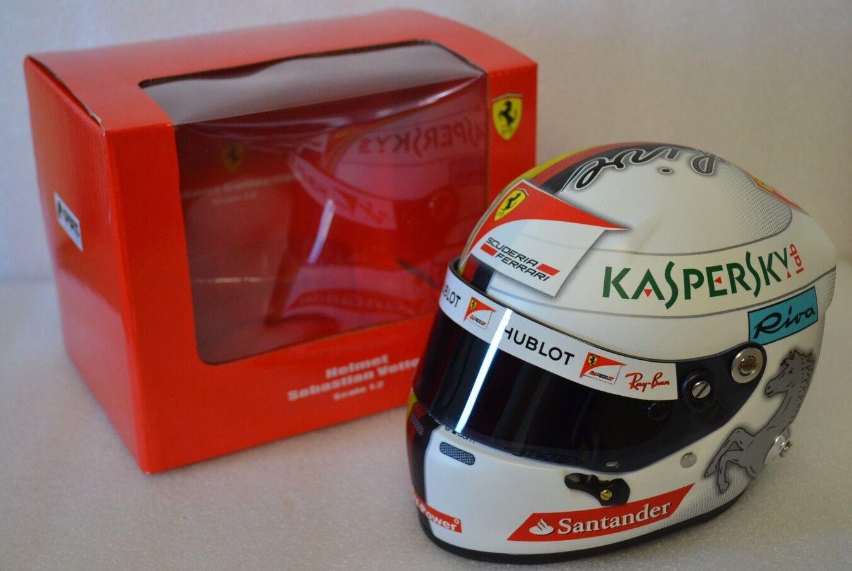 Casque Helmet 1:2 Ferrari VETTEL 2017 F1 NEW