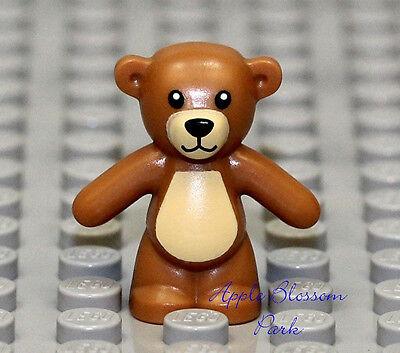 NEW Lego Minifig Light BROWN TEDDY BEAR - Boy/Girl Friends Minifigure Toy Animal