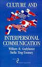 Culture and Interpersonal Communication by Stella Ting-Toomey, William B. Gudykunst (Paperback, 1989)