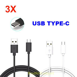3-Pack-For-Motorola-Moto-Z2-Z3-X4-G6-G7-Force-Droid-USB-Type-C-Charging-Cable