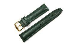 Jacques Lemans Ersatzband Uhrenarmband Lederband dunkelgrün 20mm G Uhrenband