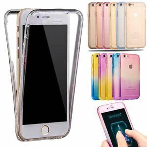 Shockproof-TPU-Gel-Case-For-Apple-iPhone-8-7-5s-6s-SE-Hybrid-360-New-Skin-Cover