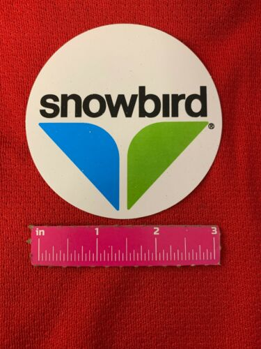 "SNOWBIRD Ski /& Summer Resort 3"" Sticker//decal Skiing SkiResort Souvenir Ski Utah"