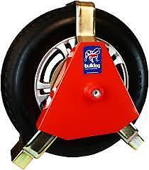 5yr Guarantee NEW Bulldog Titan 180//F Wheel Clamp Sold Secure Gold