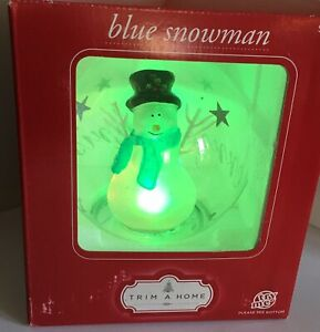 Light Up Snowman Color Changing Boxed Trim a Home ...