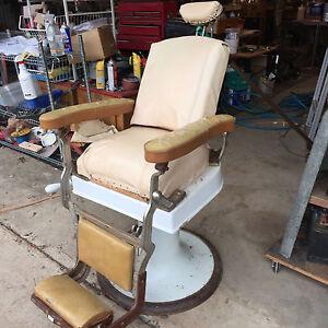 koken antique barber chair ebay