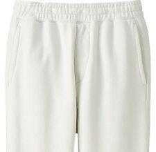 LEMAIRE x UNIQLO 'U Sweatpants' Men's Designer LARGE White Sweat Pants **NWT**