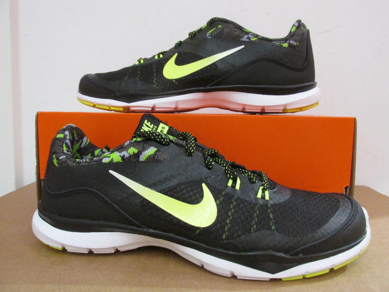 Nike Damen Flex Trainer 5 Aufdruck Räumung Laufschuhe 749184 011 Sneakers Räumung Aufdruck 4657c7