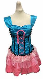 secret wishes burlesque costume basque corset tutu dress