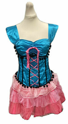 secret wishes burlesque costume basque corset tutu dress