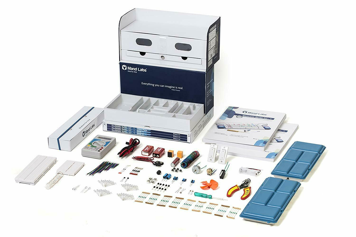 Mand Labs KIT-1 Premium Edition  The All-In-One STEM Electronics Kit