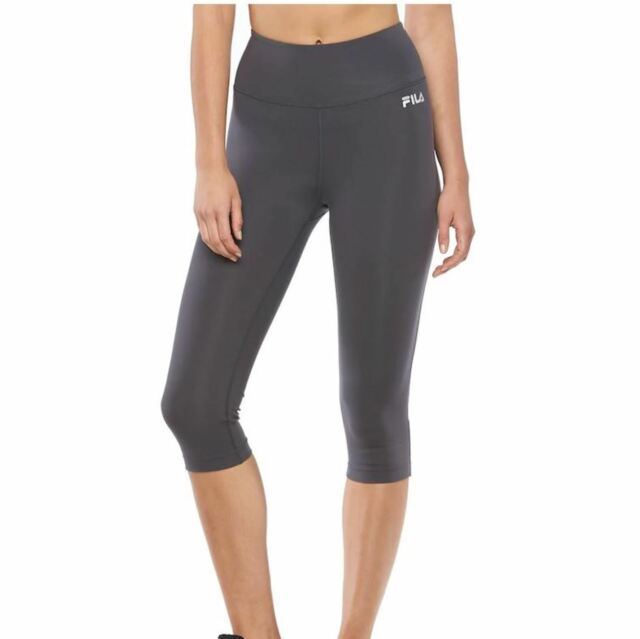 Fila Sport Women S High Waist Capri Skimmer Leggings Exercise Yoga S Xl New 40 For Sale Online
