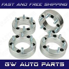4pc 2 Wheel Adapters 5x45 To 6x55 5 Lug To 6 Lug 5x1143 To 6x1397 Fits Ford