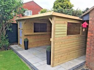 Outdoor party garden bar hot tub shelter for Hot tub shelters