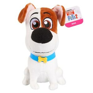 The-Secret-Life-of-Pets-2-17cm-Small-Plush-Max-Brand-New-79500