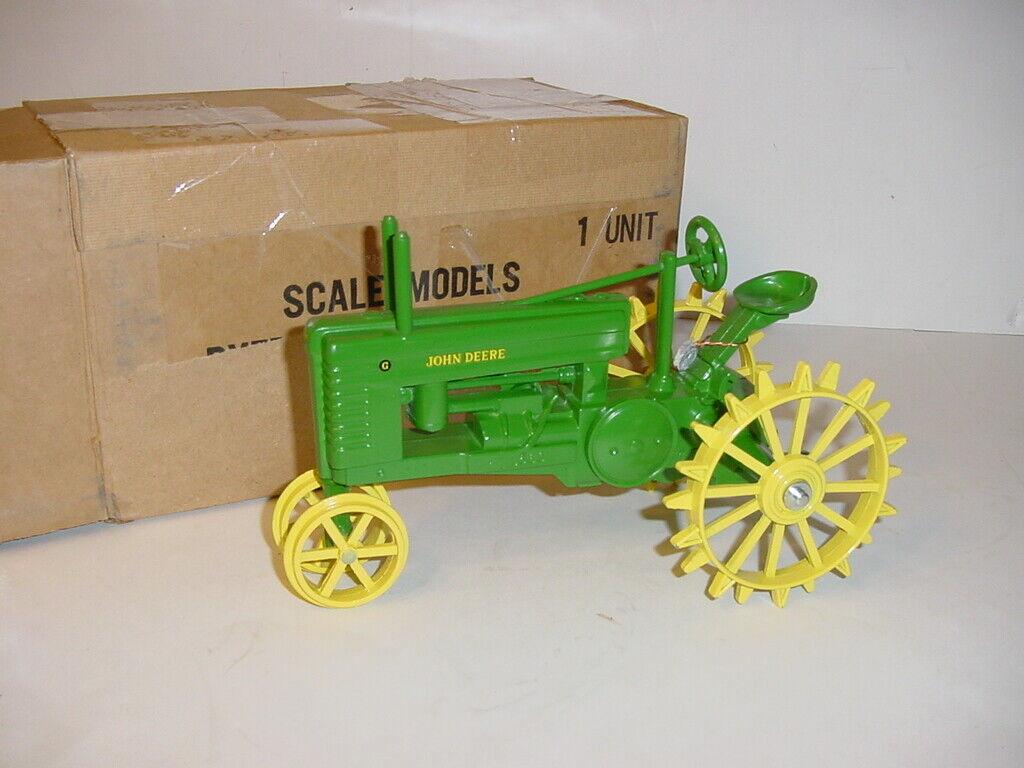 1 16 John Deere Waterloo Boy, Model G, & Model GP Tractor Steel Wheel Set NIB