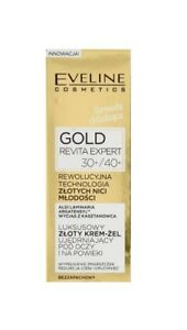 2762d87f54f Image is loading EVELINE-COSMETICS-GOLD-REVITA-EXPERT-GOLD-EYE-AND-