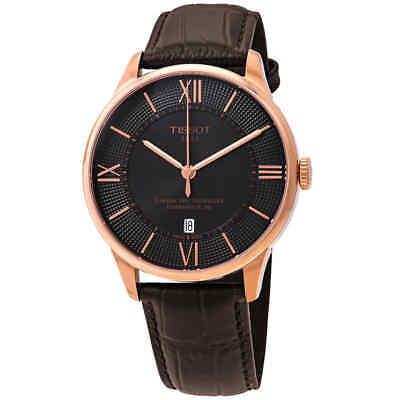 Tissot Chemin Des Tourelles Automatic Brown Dial Men's Watch T099.407.36.448.00