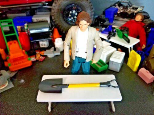 RC 1//10 Scale Shovel Gardening Tool Rock Crawler Truck Miniature Accessory