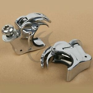 39mm Fork Windshield Windscreen Clamps Fit For Harley Sportster XL 883 1200 Dyna
