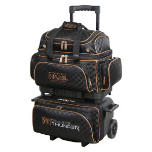 Ball Roller Bowling Bag Schwarz Gold