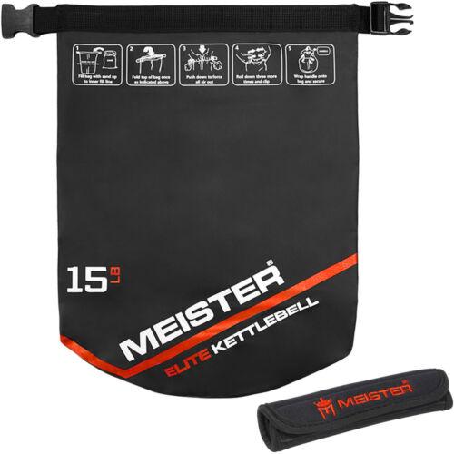 10//15//20 LB Elite Weight Sandbag Soft Dumbell MEISTER PORTABLE SAND KETTLEBELL