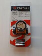 Streamlight 61052 Yellow Septor Led Headlamp Flashlight With Batteries Strap