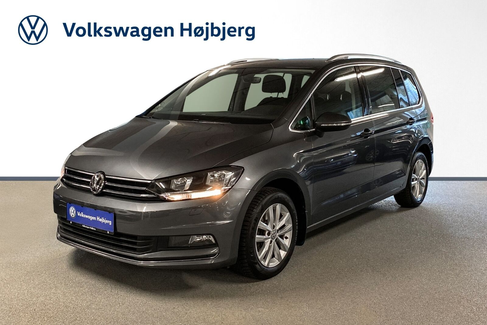 VW Touran 1,4 TSi 150 Highline DSG 7prs 5d - 334.900 kr.