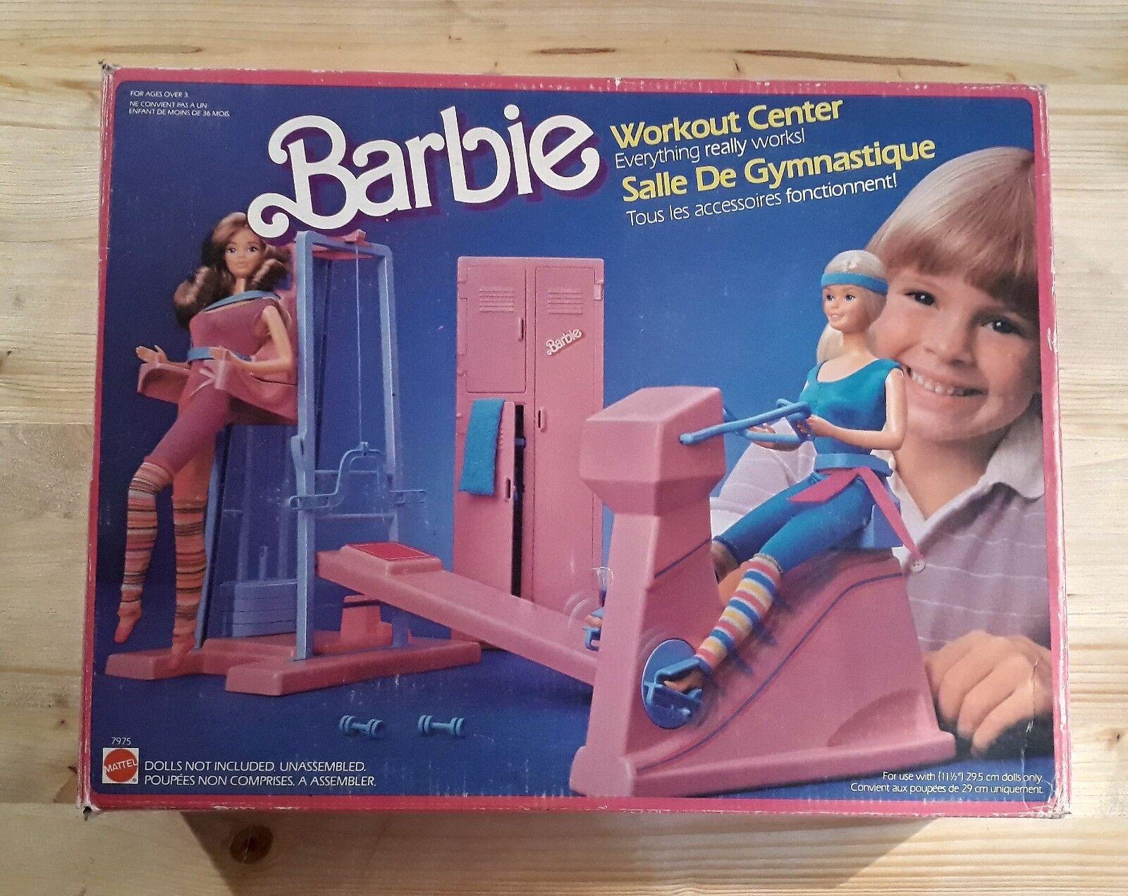 BARBIE Palestra - Workout Center (Mattel 1984, con scatola orginale)