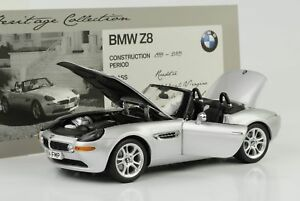 1999-2003-BMW-Z8-Silver-1-18-Kyosho-Dealer