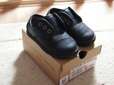 Toms Baby Boy Leather Black Shoes , size 5