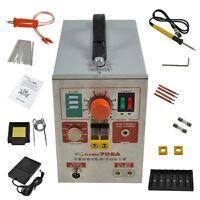 2 In 1 1.9kw 60a Spot Welder Soldering Iron Staion Battery Welding Machine 709a