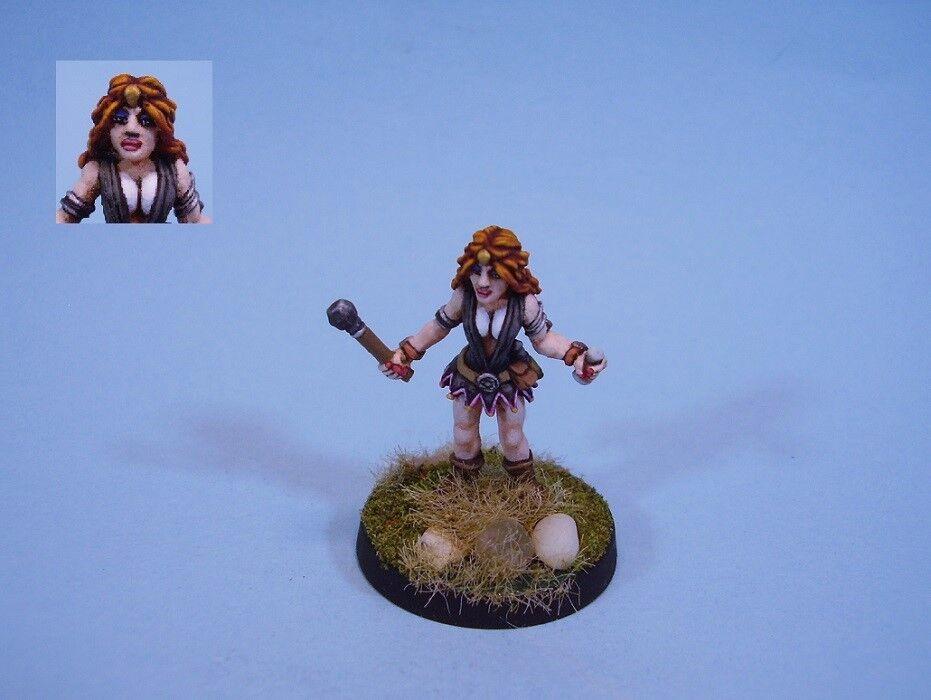 Ral Partha painted  miniature Sorceress with wand  bienvenue à l'ordre