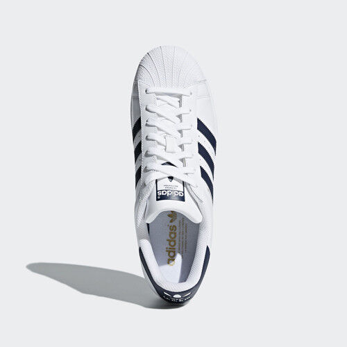 best service 5ca44 a1fc4 Women Adidas CM8082 Superstar Running shoes shoes shoes white navy sneakers  d0ec47 Nike ...