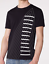Armani-Exchange-INVERTED-Mens-Designer-T-SHIRT-Premium-BLACK-Slim-Fit-45-NWT thumbnail 4