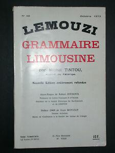Lemouzi grammaire limousine - M. Tintou - 1973 n°48