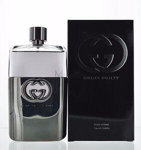 gucci guilty by gucci pour homme eau de toilette 5 oz 150 ml spray for