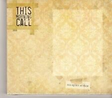 (GC143) This Morning Call, All Quiet At 4Am - 2010 Sealed CD