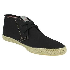 3277116a6c128b Mens Base London Fish   N Chips Canvas Shoes - Lilo