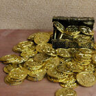 50pcs Plastic Pirate Gold Play Toys Coin Birthday Party Favors Money Coin Funny