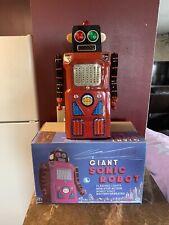 Original Modern Toys Giant Sonic Train Robot Tin Japan