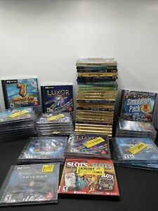 Lot Of PC Games 55+ Hidden Objects, Wonders Trilogy, Casino Mega Collection