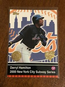 2000-World-Series-Topps-Baseball-Base-Card-13-Darryl-Hamilton-New-York-Mets
