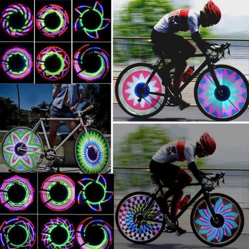 32LED Flash Bicycle Motorcycle Car Bike Tyre Tire Wheel Valve Spoke Light