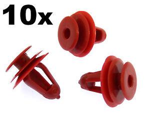 TOYOTA Snap sac door card plug insert stud friction panel bush trim clips 10X